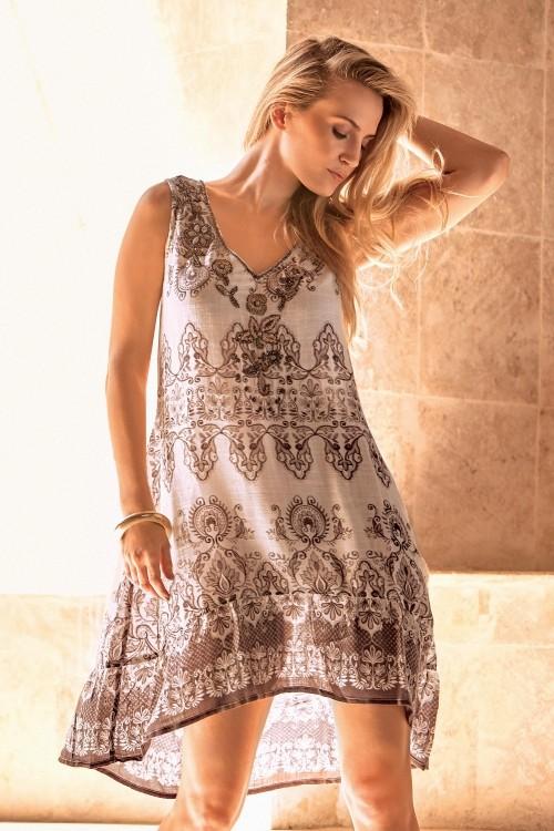 714b8f2dd87d1 1721 грн.2295 грн. Купить Большое пляжное платье для женщин Iconique IC9-029